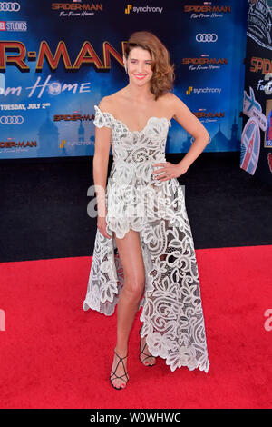 Los Angeles, USA. 26th June, 2019. at the world premiere of the feature film 'Spider-Man: Far from Home' at the TCL Chinese Theater. Los Angeles, 26.06.2019 | usage worldwide Credit: dpa/Alamy Live News - Stock Photo