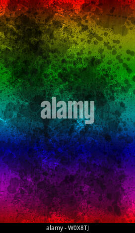 Abstract Image with colorful graphical elements design, concept - Stock Photo