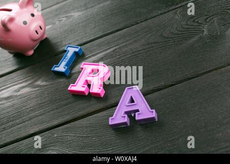 Pension concept.Retirement plans. - Stock Photo