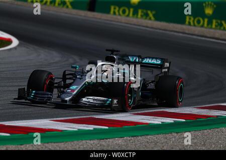 #44 Lewis Hamilton Mercedes AMG Team F1. Austrian Grand Prix 2019 Spielberg. Stock Photo