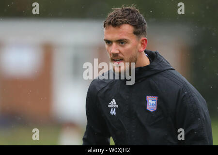 Emyr Huws of Ipswich Town - Paul Lambert, New Ipswich Town Manager first training session - 30th October 2018 - Stock Photo