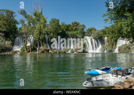 Kravice Waterfalls, Bosnia-Herzegovina - Stock Photo