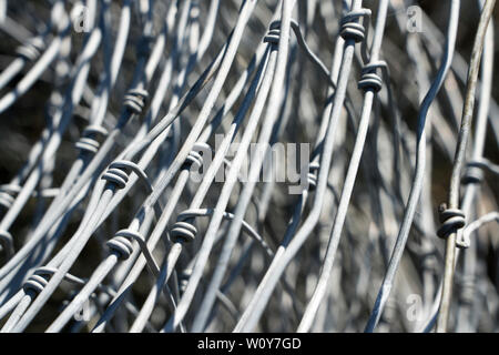Old wire mesh - Stock Photo