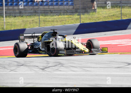 Formula 1 championship round at the A1 Red Bull Ring in Spielberg Austria - Stock Photo