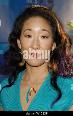 Sandra Oh at the 2004 ABC All-Star Party at C2 Cafe in Century City, CA. The event took place on Tuesday, July 13, 2004.  Photo by: SBM / PictureLux - All Rights Reserved   - File Reference # 33790-6704SBMPLX - Stock Photo