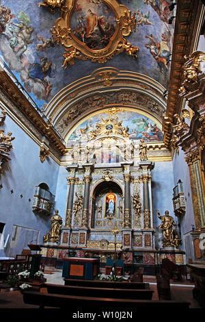 Chiesa di Santa Maria sopra Minerva in Assisi Italy - Stock Photo