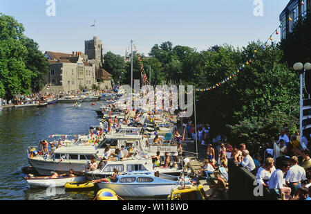 The Maidstone River Festival, Kent, England, UK. Circa 1980's - Stock Photo
