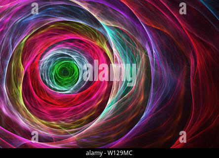Abstract color dynamic background with lighting effect. Futuristic bright painting texture for creativity graphic design. Pattern for wallpaper, poste - Stock Photo