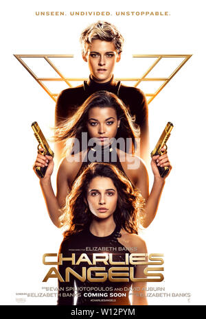 RELEASE DATE: November 15, 2019 TITLE: Charlie's' Angels