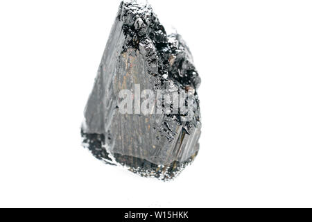 Tourmaline photographed with the macro in best studio quality and high resolution - Stock Photo