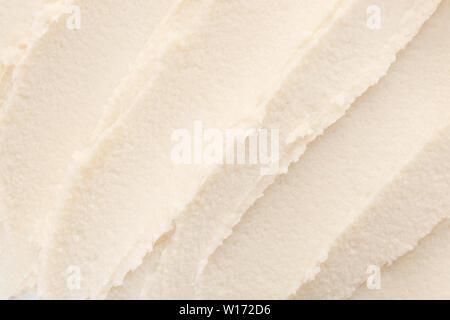 Texture of shea butter, closeup - Stock Photo