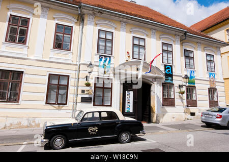 Museum of Naive Art, Gradec, Zagreb, Croatia - Stock Photo