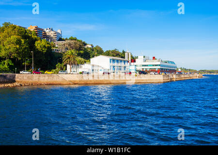 Cantabrian Maritime Museum or Museo Maritimo del Cantabrico in Santander city, Cantabria region of Spain - Stock Photo