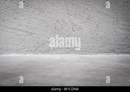 grunge concrete studio room background with light.mock up space for display of product or design.. - Stock Photo