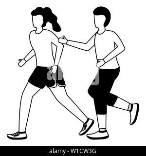 people running activity - Stock Photo