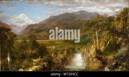 Frederic Edwin Church - Heart Andes 1859 - Stock Photo