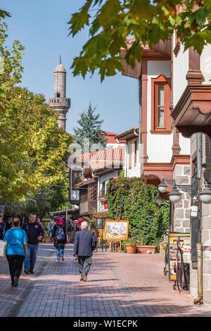 Hamamonu district view in Ankara, Turkey - Stock Photo