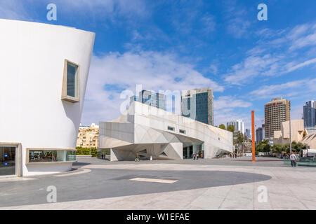 View of the Tel Aviv Performing Arts Center, Tel Aviv, Israel, Middle East