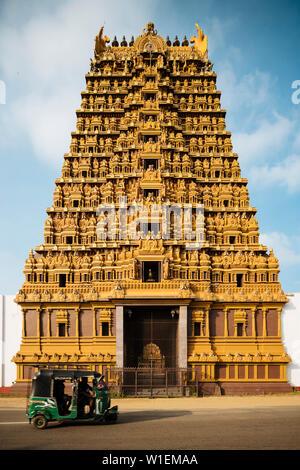 Nallur Kandaswamy Kovil Hindu Temple, Jaffna, Northern Province, Sri Lanka, Asia - Stock Photo