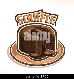 Vector logo for Souffle - Stock Photo