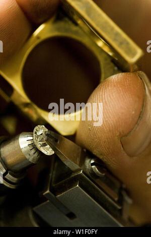ANTWERP'S DIAMOND DISTRICT - Stock Photo