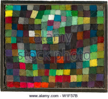 Paul Klee, May Picture, abstract painting, 1925 - Stock Photo