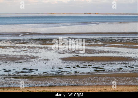 Holiday Destination Wyk on the Island of Foehr, Germany - Stock Photo