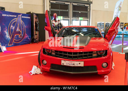 COLOGNE, GERMANY - JUN 28th 2019: Impressions at CCXP Cologne, a four day fan convention - Stock Photo