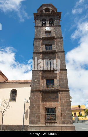 Church of the Concepcion, San Cristobal de La Laguna, Santa Cruz de Tenerife, Canary Islands, Spain, - Stock Photo
