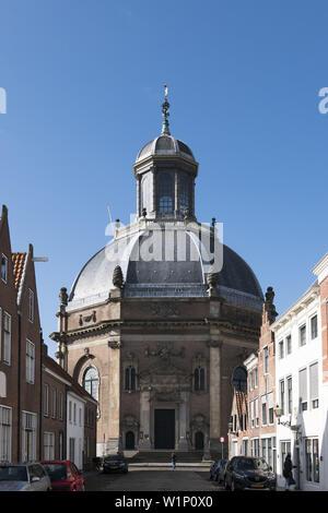 Oostkerk, Middelburg, North Sea Coast, Zeeland, Netherlands - Stock Photo
