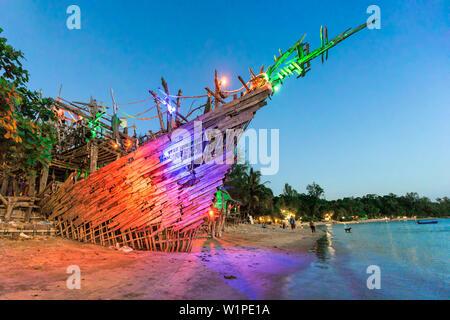 Hippie Bar, Tree House Bar, Buffallo Bay, Aow Kao Kwai, Koh Phayam