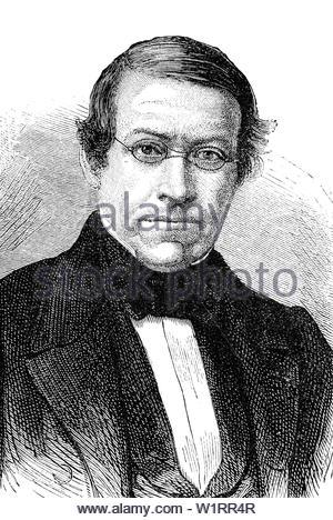 Sir Charles Wheatstone - Stock Photo