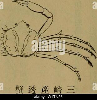 Archive image from page 497 of Dbutsugaku zasshi (1889) - Stock Photo