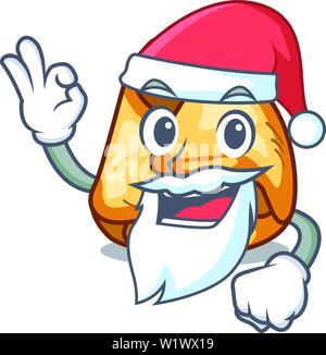 Santa fusi istriani in the cartoon shape - Stock Photo