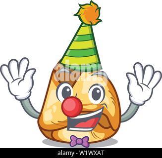 Clown fusi istriani in the cartoon shape - Stock Photo