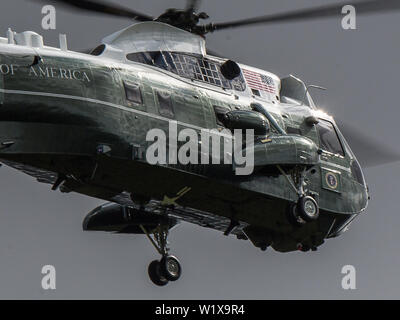 United States Marine Corps Sikorsky VH-3D Sea King