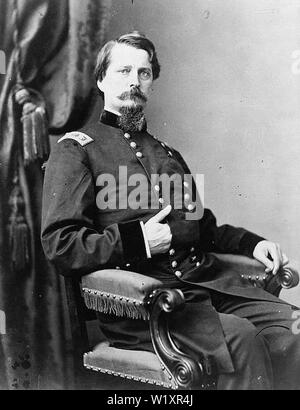 Winfield Scott Hancock (February 14, 1824 – February 9, 1886) was a career U.S. Army officer and the Democratic nominee for President of the United States in 1880. - Stock Photo