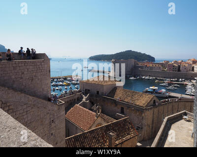 Dubrovnik old town - Stock Photo