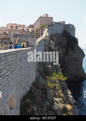 Walls of Dubrovnik - Stock Photo