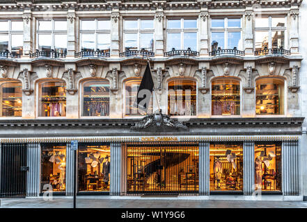 Dolce & Gabbana fashion store, 53-55 New Bond St, Mayfair, London W1S 1DG, England, UK. - Stock Photo