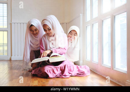 Knowledge group of islam education fundamental rights and freedom knowledge concept. - Stock Photo