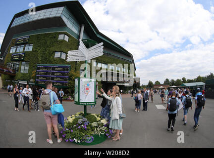 London, UK. 3rd July, 2019. General view. Credit: Andrew Patron/ZUMA Wire/Alamy Live News - Stock Photo