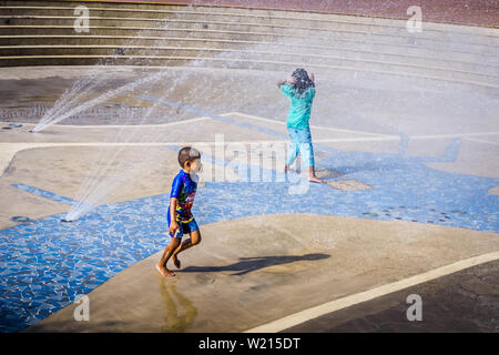 Singapore - Aug 17, 2018: Lower Seletar Reservoir is a reservoir located in the northeastern part of Singapore, to the east of Yishun New Town. - Stock Photo