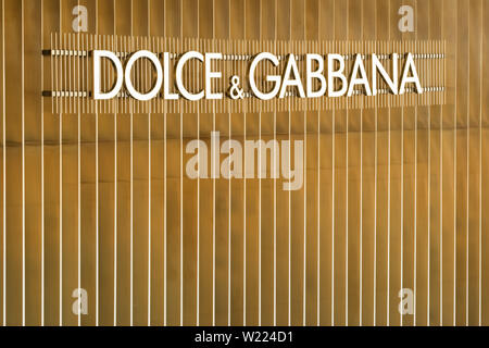 Dolce Gabbana store in Iconsiam shopping mall in Bangkok, Thailand - Stock Photo