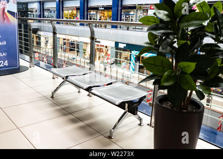 Chelyabinsk Region, Russia - June 2019. Shopping and entertainment complex Spring - Stock Photo