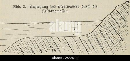Archive image from page 23 of Das meer, seine erforschung und - Stock Photo