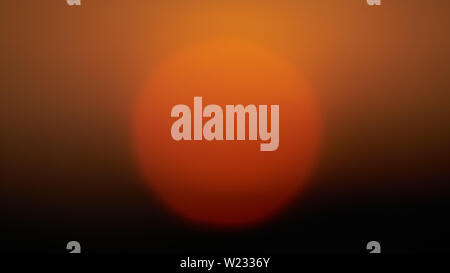 abstract photo of the sun - Stock Photo