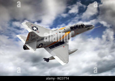 Douglas TA-4J Skyhawk Stock Photo