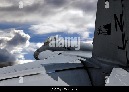 Boeing FA-18 Super Hornet - Stock Photo