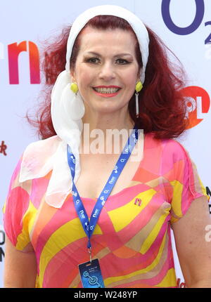 London, UK. 05th July, 2019. London.UK. Cleo Rocos at the Grosvenor House, Park Lane. 5 September 2018. Ref: LMK73 -MB3005-050719 Keith Mayhew/Landmark Media. Credit: LMK MEDIA/Alamy Live News - Stock Photo